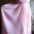 Отдается в дар Платье нарядное плиссированное нежно-розовое