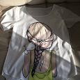 Отдается в дар Женская футболка 42 р.