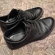 Отдается в дар Кожаные ботинки, 41 размер