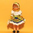 Отдается в дар Куколка в национальном костюме, Чехия
