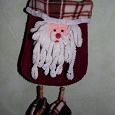 Отдается в дар Новогодняя сумочка-мешочек Дед Мороз