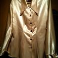 Отдается в дар Женская блуза золотистого цвета