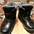 Отдается в дар Зимние ботинки на мальчика