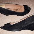 Отдается в дар Туфли замшевые (39 размер)