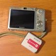 Отдается в дар Фотоаппарат Sony DSC-W70 на запчасти (с рабочим аккумулятором).