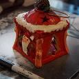 Отдается в дар Новогодний подсвечник керамический