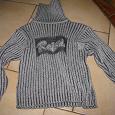 Отдается в дар свитер детский, на 4 года