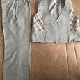 Отдается в дар школьные брюки и жилет