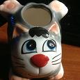 Отдается в дар Подставка для зубочисток в виде кошки