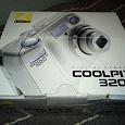 Отдается в дар Фотоаппарат Nikon CoolPix 3200