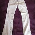 Отдается в дар белые женские джинсы на худышку 40
