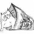 Отдается в дар Одежный кот в мешке р-р 42-44