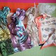 Отдается в дар Весенние шарфики платки