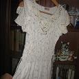 Отдается в дар Платье летнее, р-р 44-48 ( тянется).