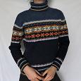 Отдается в дар Очень теплый шерстяной свитер