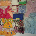 Отдается в дар Одежда (92-120 см) и обувь (25-26) для девочки