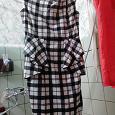 Отдается в дар Платье тёплое с «баской», 42-44 рос.