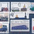 Отдается в дар Почтовые марки ЖД транспорт