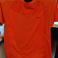 Отдается в дар Спортивная оранжевая футболка мужская