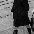 Отдается в дар Пальто женское чёрное