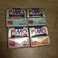 Отдается в дар Полимерная глина Fimo