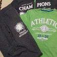 Отдается в дар Спортивный костюм для подростка утепленный + футболка.