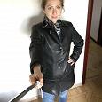 Отдается в дар куртка пиджак женская натуральная кожа р 42-44
