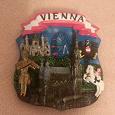 Отдается в дар Объёмный магнит из Вены