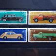 Отдается в дар История отечественного автомобилестроения. Почтовые марки СССР.