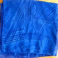 Отдается в дар шарфик квадратный 50 см, синий
