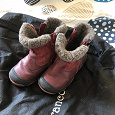 Отдается в дар теплые детские ботинки