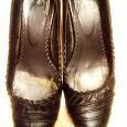 Отдается в дар Кожаные туфли 37,5 (38)
