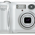 Отдается в дар Фотоаппарат Nikon Coolpix E4100