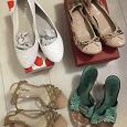 Отдается в дар Женские туфли и босоножки 38-39