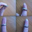 Отдается в дар Серебряное кольцо 925