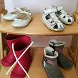 Отдается в дар Обувь для девочки (22-23 размер)