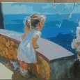 Отдается в дар Картина «Счастливое детство»