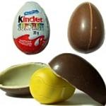 Фигурки из шоколадных яиц