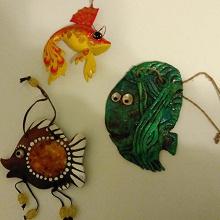 Отдается в дар Три рыбки.