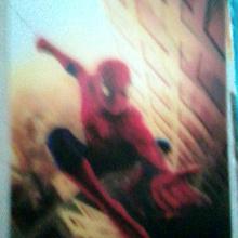 Отдается в дар Спайдермен открытка
