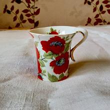 Отдается в дар Кофейная чашка из тонкого японского фарфора Yamasen Gold Collection.