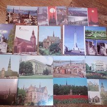 Отдается в дар открытки про Ригу