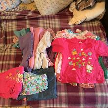 Отдается в дар Вещи девочке до 3 лет