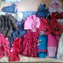 Отдается в дар Одежка для девочки приблизительно на 2г