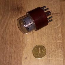 Отдается в дар Радиолампа — десятичный газоразрядный индикатор ИН-1