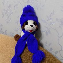 Отдается в дар шапочка и шарфик.