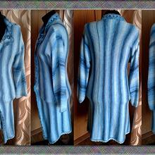 Отдается в дар Вязаный комплект (пальто+юбка)