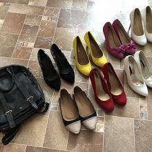 Отдается в дар Туфли 38 размер и сумка