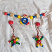 Отдается в дар Деревянные игрушки на коляску