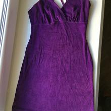Отдается в дар Плюшевое короткое платье 42